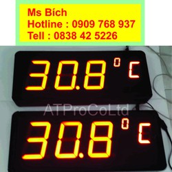 Đồng hồ đo nhiệt độ -  Sai số +-0.5oC- Made in Việt Nam