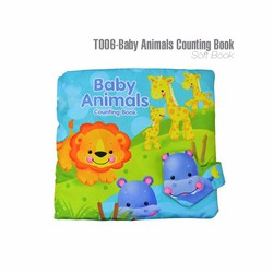 Sách vải Baby animals