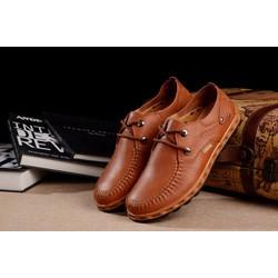 Giày tây nam buộc dây,da mềm,đi êm chân