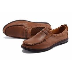 Giày lười da mềm,đi êm chân,kiểu dáng đơn giản
