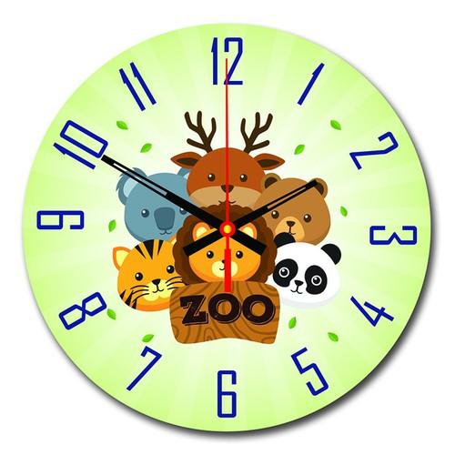Tranh Đồng Hồ Trang Trí Nội Thất Phòng Bé Zoo - 4111577 , 4532838 , 15_4532838 , 329000 , Tranh-Dong-Ho-Trang-Tri-Noi-That-Phong-Be-Zoo-15_4532838 , sendo.vn , Tranh Đồng Hồ Trang Trí Nội Thất Phòng Bé Zoo
