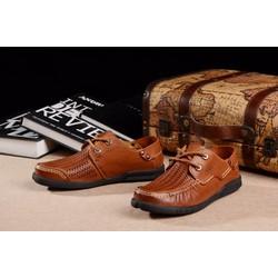 Giày tây nam da mềm, bề mặt thông thoáng ,tiện lợi