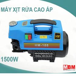 Máy bơm xịt rửa áp lực cao 220V 1.5KW HM-188