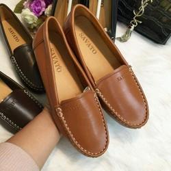Giày lười nữ êm chân