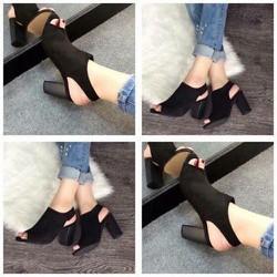Giày boot cao gót nữ kiểu dáng thời trang - LN1041