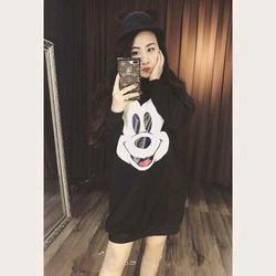 Váy nỉ hình chuột Mickey siêu cute