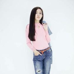 Quần jeans nữ Boyfriend vnxk