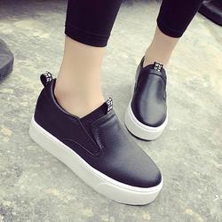 FL001D - Giày slip đế độn nữ đơn giản, cá tính