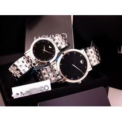 Đồng hồ cặp đôi sang trọng inox đặc