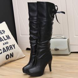 FB007D- Giày bốt nữ cao cổ sang trọng
