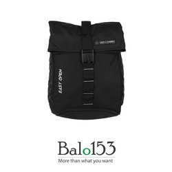 Balo đựng laptop 14inch Simplecarry Easy Open Black