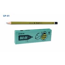 BÚT CHÌ GỖ GP-01 2B 10 CÂY 1 HỘP