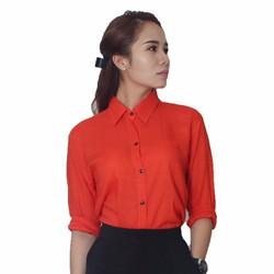 Áo sơ mi nữ cao cấp nhập khẩu Thái lan chất liệu lụa YOYO