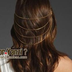 Cài tóc xi mạ