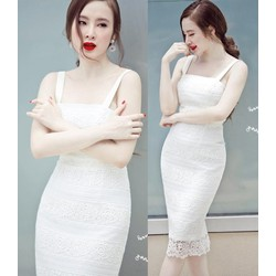 Đầm body ren cao cấp sang trọng Phương Trinh