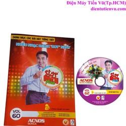 Đĩa DVD Karaoke Acnos mới nhất Vol 62 F + Danh Mục Bài Hát