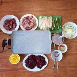 Bếp nướng vân đá samsung