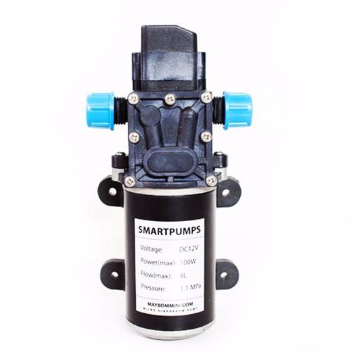 Bơm nước mini áp lực 12v 100w 8l