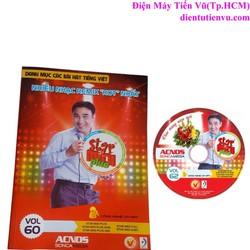 Đĩa DVD Karaoke Acnos mới nhất Vol 62 Plus + Danh Mục Bài Hát