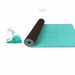 Thảm tập Yoga Hatha chính hãng cao cấp màu xanh ngọc
