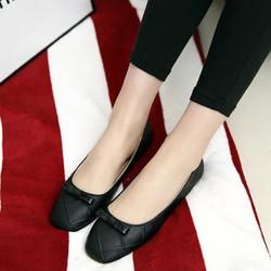 Sale off - size 38 - Giày búp bê mũi vuông nơ BB27
