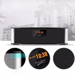 Loa Bluetooth Clock Đồng Hồ