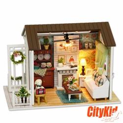 Đồ chơi mô hình nhà gỗ diy Cute Room Z-008