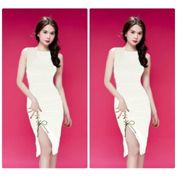 Đầm body xẻ tà thiết kế Ngọc Trinh