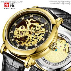 Đồng hồ cơ lộ máy chính hãng Weisikai - Mã số: DH16106