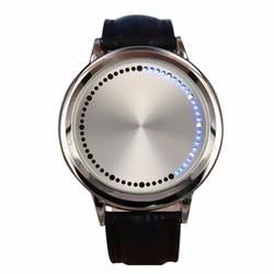 Đồng hồ nam Led cảm ứng dây da cao cấp DSA661