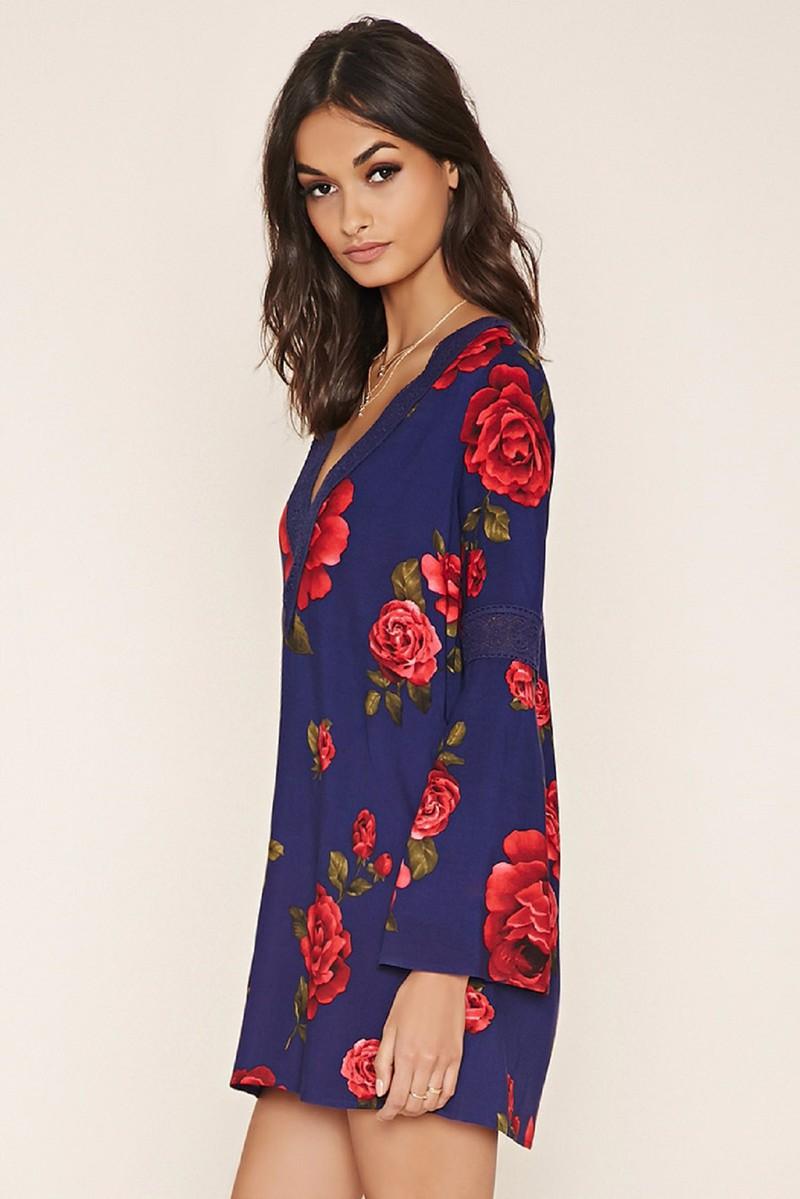 Đầm Hoa Forever21 2