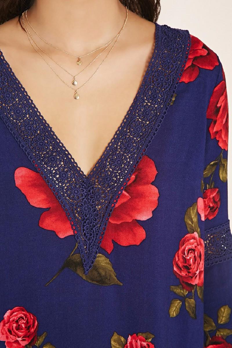 Đầm Hoa Forever21 1