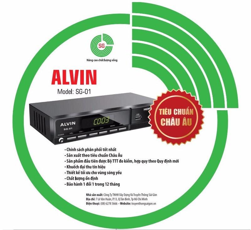 Đầu Thu Truyền Hình Số Mặt Đất DVB T2 Alvin SG-01 Chính Hãng Mới 2