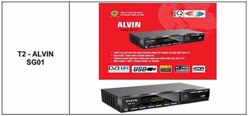 Đầu Thu Truyền Hình Số Mặt Đất DVB T2 Alvin SG-01 Chính Hãng Mới 4
