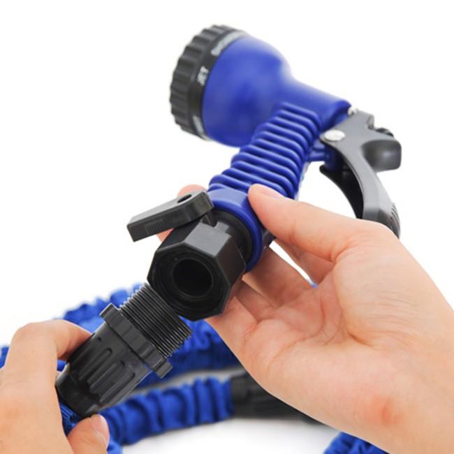 Vòi xịt nước tưới cây rửa xe Magic hose 30m 4