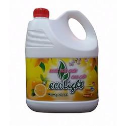 Nước rửa chén cao cấp Ecolight 3_6L hương chanh