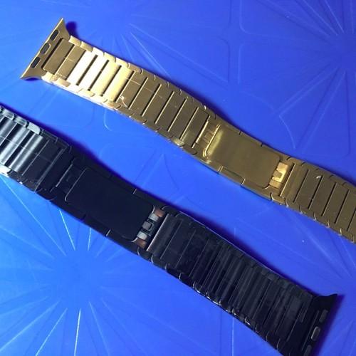 Watch 38mm-Dây đồng hồ đeo tay thanh dài khoá Butterfly chìm