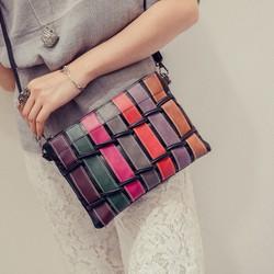 Túi đeo chéo kiểu đan bện xinh đẹp