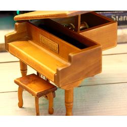 Hộp nhạc Piano gỗ nằm