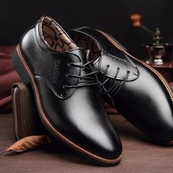 B588 - Giày tây nam phong cách Ý mẫu mới