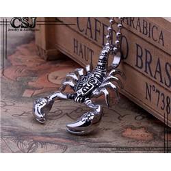 Mặt dây chuyền inox nam con bọ cạp thời trang Hàn Quốc - MĐ083