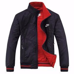 Áo khoác dù trơn 2 mặt không thấm nước cao cấp - KK60 đỏ