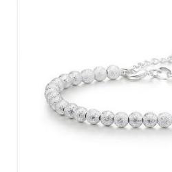 Lắc tay bạc 925 hạt tròn tinh xảo