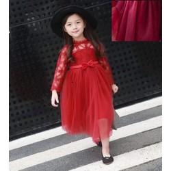 Đầm Ren Phong Cách Hàn Quốc Cực Xinh