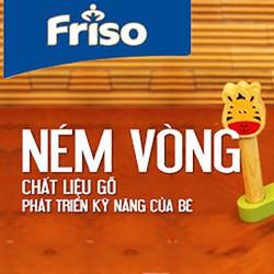 Bộ đồ chơi ném vòng bằng gỗ Friso - Việt Nam tiêu chuẩn Châu Âu