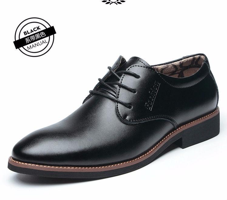 B588 - Giày tây nam phong cách Ý mẫu mới 4