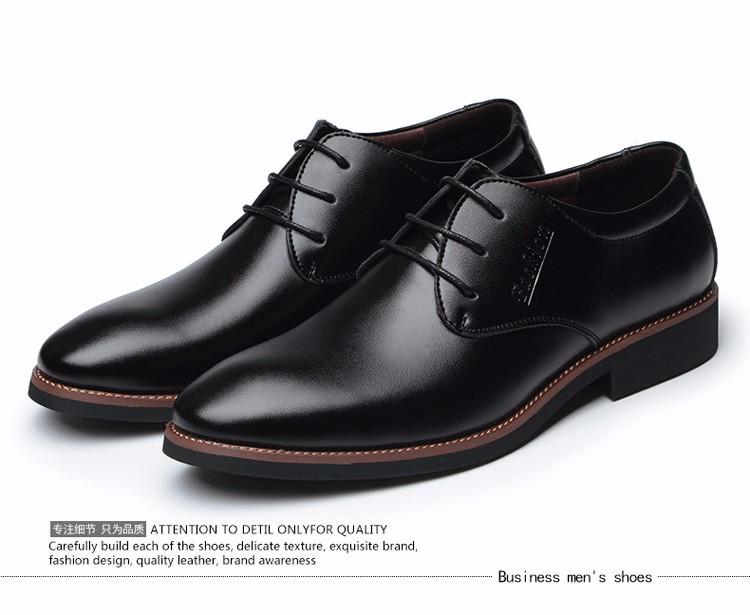 B588 - Giày tây nam phong cách Ý mẫu mới 5