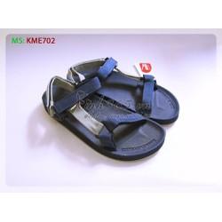 Giày nhựa Thái Lan Sandal nam - KME702 - Màu Xanh Đen