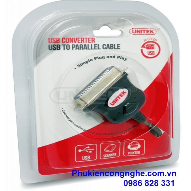 Cáp chuyển đổi USB sang LPT Unitek Y-120 3
