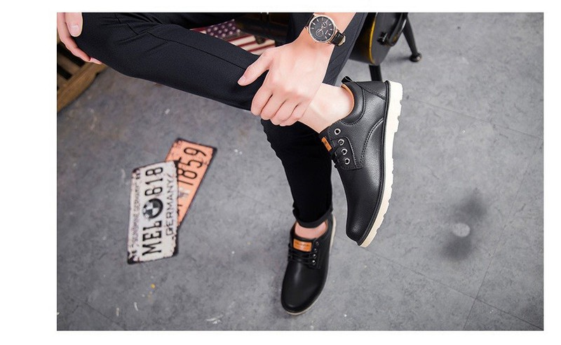 Giày Nam Da Cao Cấp Hàn Quốc - S19 5
